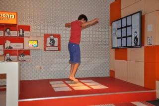 מוזיאון בית התפוצות פעילות אינטרקטיבית לילדים