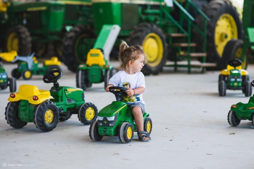 מוזיאון העמק, כלי תחבורה לילדים, לגדול