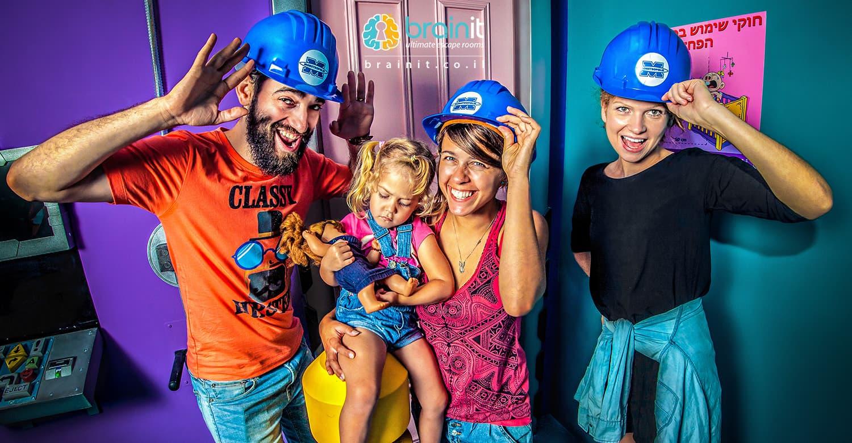 מונסטרופוליס חדר בריחה בראשלון לציון ומתאים לילדים אתר לגדול