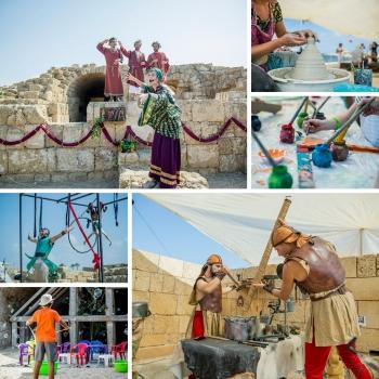 פסטיבל העת העתיקה בפארק העסקים קיסריה