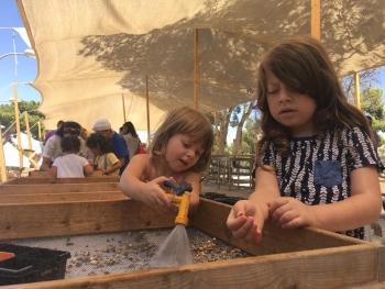 פעילות לכל המשפחה בסינון עפר בהר הבית
