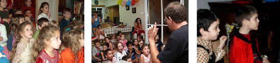 יום הולדת לילדים -קליוסטרו הקוסם