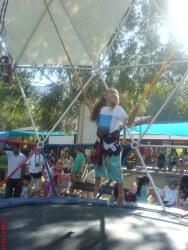 טרמפולינה בצוק מנרה-אטרקציה לילדים צפון הארץ