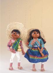 תיאטרון בובות לילדים במרכז