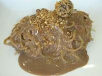 ספגטי שוקולד -נטע בשביל השוקולד