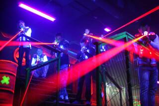 לייזר סיטי גלילות - לגדול