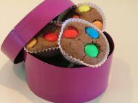 עוגת שוקולד עם עדשים