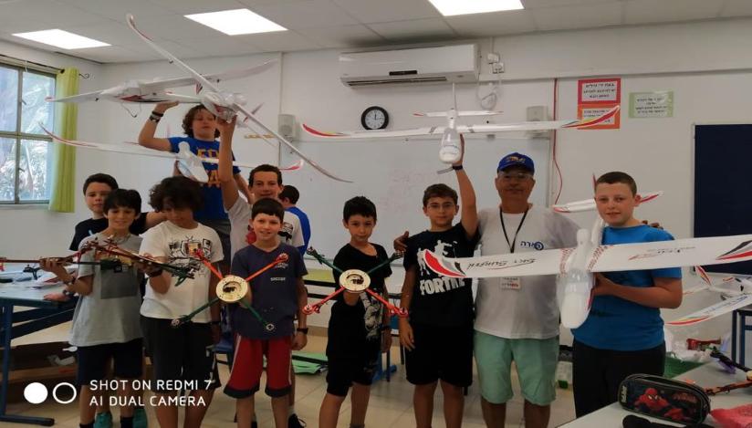 מחנה טיס קייטנה לילדים , לגדול