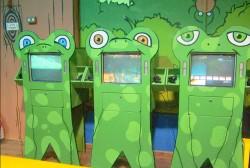 משחקי מחשב לילדים במשחקיית קטקטים מקום בילוי לילדים בחיפה