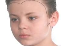 שלב 1-איפור ילדים-דרקולה