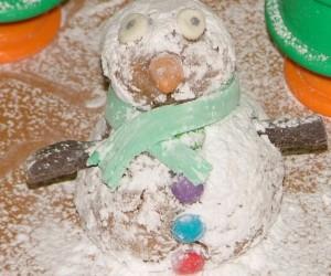 איש שלג נעים וגם טעים