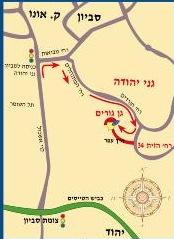איך מגיעים לגן גורים פינת חי גני יהודה