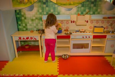 ג'ימבורי פרפרים, מטבחון משחק לילדים