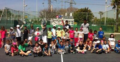 קייטנת האקדמיה לטניס 2013 תל אביב