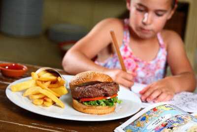 מסעדת בנחלה תפריט לילדים