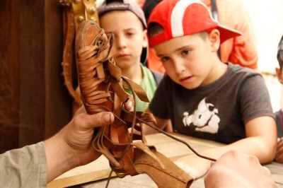 מוזיאון עין יעל, סדנאות לילדים