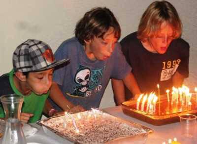 גיים זון ימי הולדת לילדים