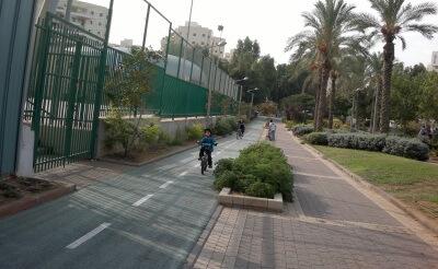גן סיפור חולון מסלול אופניים