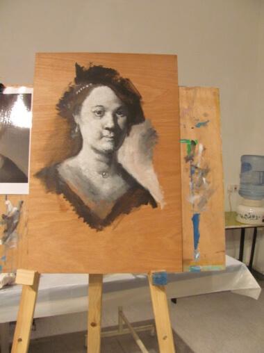 חוג ציור למתחילים במוזיאון לאמנות רמת גן