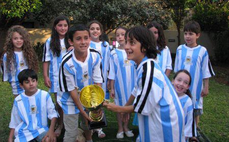 גול פרטי יום הולדת כדורגל