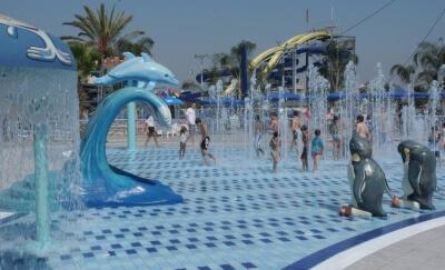 אטרקציות לילדים פארק מים ימית חולון