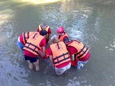 רפטינג נהר הירדן פעילות קבוצות