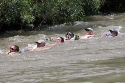 רפטינג נהר הירדן