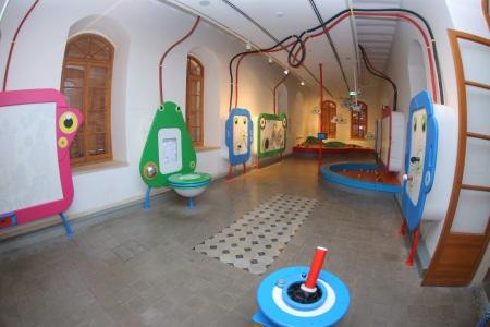 פארק קרסו למדע תערוכות לילדים