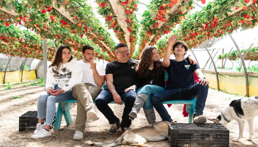 אורי תותים קטיף לכל המשפחה, לגדול