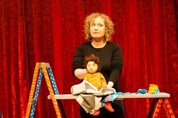 צעצוע בריבוע תיאטרון בובות באלמינא יפו