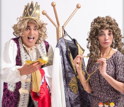 בגדי המלך החדשים הצגת ילדים בתיאטרון הפארק