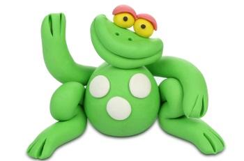 צפרדע מפלסטלינה