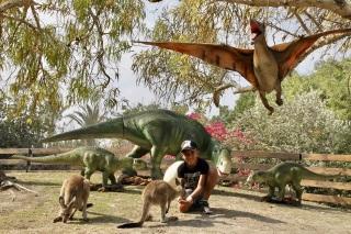 גן גו יורה מבוך הדינוזאורים בגן גורו