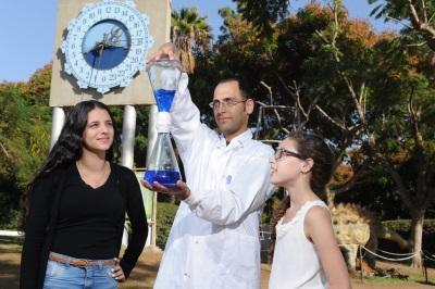 חנוכה בגן המדע