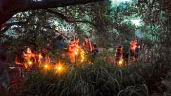 סיור עששיות בפארק גני יהושע