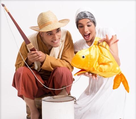 הדייג ודג הזהב, הצגת ילדים בתיאטרון בפארק