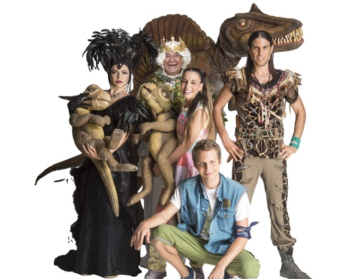 הדינוזאורים - מסע בממלכת היורה, חנוכה 2015