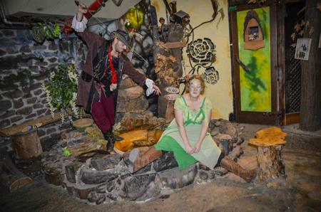 היער רעננה, פעילות לילדים עם שלל דמויות