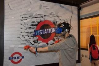 מציאות מדומה vr station