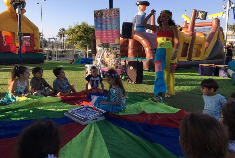 ג'אמפו פארק, טרקטורוני שטח לילדים