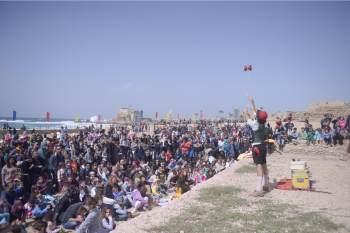 פסטיבל היסטורי מזווית אחרת בגן לאומי קיסריה - לגדול