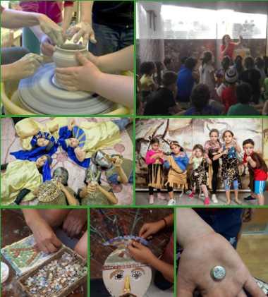 סוכות במוזיאון כפר סבא - אתר לגדול