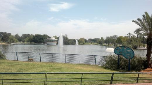 אגם פארק לאומי ברמת גן. צילום ירון שמאי