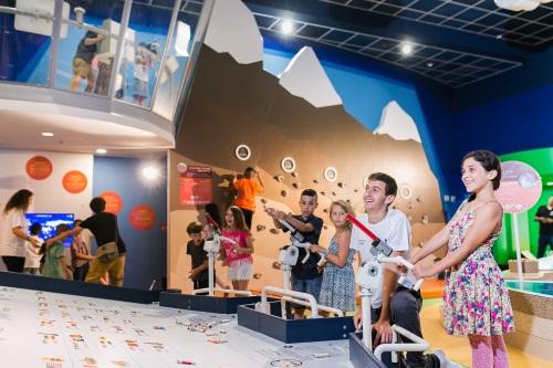 לונדע מוזיאון המדע באר שבע, אטרקציה לילדים בדרום