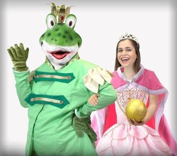 נסיך צפרדע, הצגת ילדים תיאטרון הפארק
