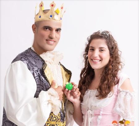 הנסיכה והאפון הצגת ילדים תיאטרון הפארק