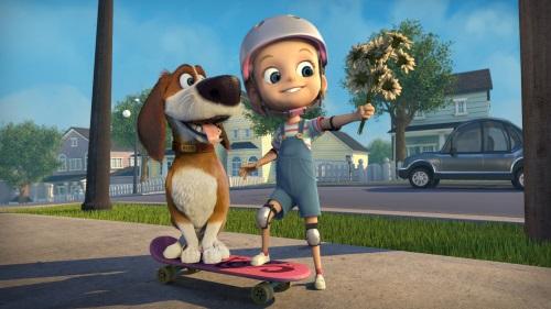 אוזי והנביחה הגדולה סרט ילדים