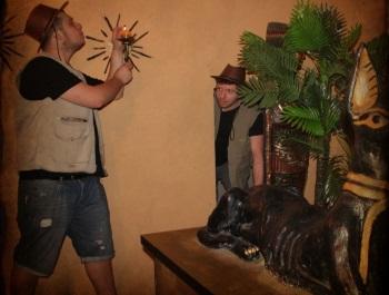 מקדש אנוביס חדר בריחה פאזל בוקס - אתר לגדול