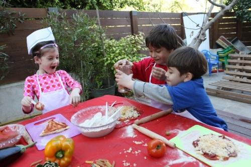 שירליס ימי הולדת, שירליס חוגים לילדים, חוגי בישול, קייטנת קיץ 2015