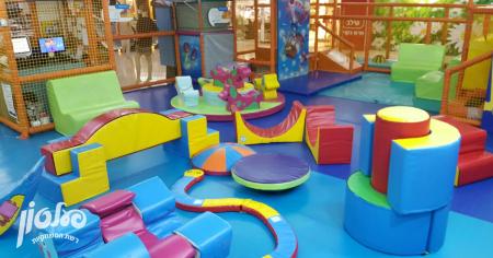 פעלטון ויצמן סיטי, משחקיות לילדים בתל אביב